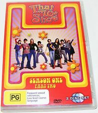 That 70's Show : Season 1 : Part 2-- (DVD, 2005, 2-Disc Set)