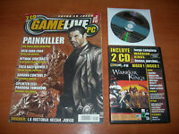 REVISTA GAMELIFE PC Nº40 + JUEGO WARRIOR KINGS + DEMOS
