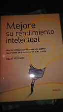 Libro Mejore su rendimiento intelectual