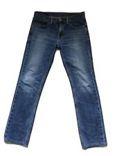 Mens levis 511 jeans 32 waist 32 (30 Exact) leg Medium Blue Wash !