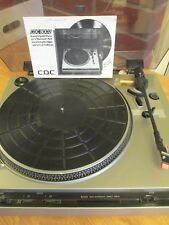 CDC 8002 Semi Automatic Direct Drive Record Player Turntable
