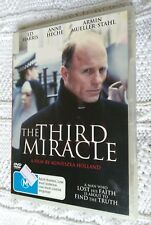 THE THIRD MIRACLE – DVD, REGION-4, LIKE NEW, FREE POST WITHIN AUSTRALIA