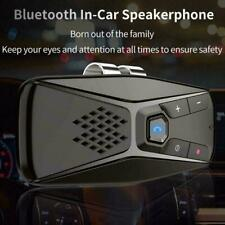 Wireless Bluetooth 5.0 Car Speaker Phone Handsfree MP3 Kit Visor Clip Sun D F7Z8