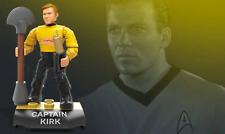 Star Trek Captain Kirk Mega Construx Heroes Mini Figure 19 pc Set Series 2
