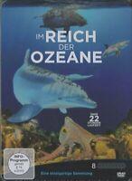 Im Reich der Ozeane - Metallbox, 8 DVDs, Eine einzigartige Sammlung, Deutsch, EN