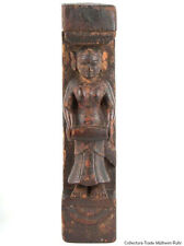 Indien 18./19. Jh. Holzrelief Rajasthan Architectural Wood Relief Western India