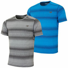 Polyester Striped Graphic Tees for Men