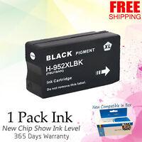 Black Ink for HP 952XL OfficeJet Pro 8710 7740 8210 8216 8218 8730 8740 F6U19AN