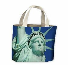 Statue of Liberty Close Up Tote Shopping Bag For Life - New York USA America