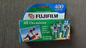 Fujifilm 400 Speed Film 35MM 108 Exposures 4 Rolls Superia X-tra Exp. 08/06 New