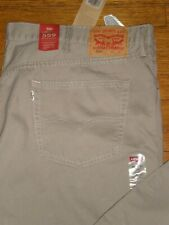 NWT LEVI'S 559 RELAXED STRAIGHT FIT TAN JEANS SZ: 48 x 30 RARE FIND $69.50