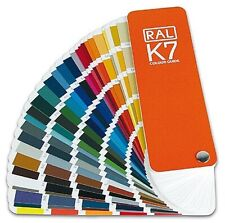 RAL K7 Classic Colour Swatch Paint Guide