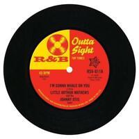 LITTLE ARTHUR MATTHEWS I'm Gonna Whale On You R&B 45 (OUTTA SIGHT) NORTHERN SOUL