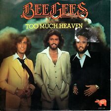 7inch BEE GEES	too much heaven	HOLLAND  1978 EX+/VG++	  (S1139)