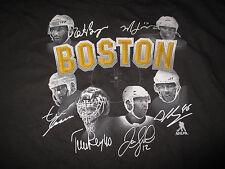BOSTON BRUINS (2XL) T-Shirt BERGERON LUCIC RASK IGINLA CHARA KREJCI