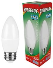 X2 Eveready 6W ( 40w) Led bombilla tipo vela – rosca Edison (es )