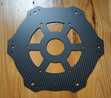 DJI S900/S1000 custom top plate made of 2mm carbon fiber sheet