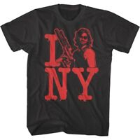 Escape From New York Snake Plisskin Loves NY Men's T Shirt I Love NY Tee Movie