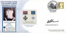 2003 Victoria & George Cross Memorial - Signed by Alfred Raymond Lowe GC