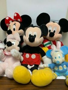 Mickey Mouse/ Minnie Mouse Plush - lot of 5