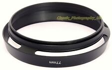 Wide-Angle 77mm Lens Hood for ZEISS APO Sonnar T* 2/135mm ZEISS Flektogon 4/20mm