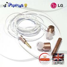 LG HSS-F631 Auriculares Audífonos Quadbeat 3 convertido por Akg para V10 V20 Oro Rosa