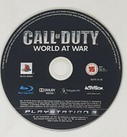 Call of Duty: World at War - DISC ONLY - (Sony PlayStation 3, PS3)