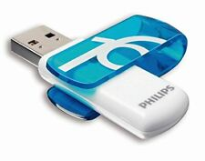 Philips Fm16fd05b - memoria USB de 16 GB azul y blanco