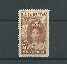 Suriname 110  JUBILEUM 1923  MH/ongebr CV 120 € prachtig !!