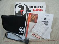 Ruger Lc9s Factory Cardboard Box With Manual + More - 96680. L@K!