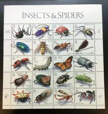 Scott 3351 Pane Of 20 Insects & Spiders 33 Cents Face Mnh/Og