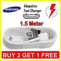 Samsung Galaxy S4 S5 S6 S7 & Edge Fast Charger USB Data Cable 1.5 Meter Long