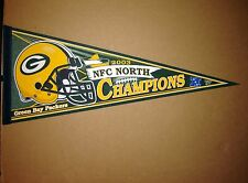 2003 Green Bay Packers Division Champions NFL Football Pennant