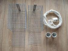 2 gebrauchte Lampenschutzkörbe für Terrarienlampen