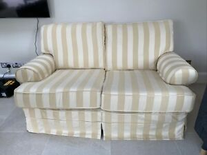 2x Tetrad havana Sofas (loose Covers) 2 And 3 Seater. 100% sale price to charity