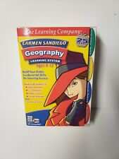 THE LEARNING COMPANY CARMEN SANDIEGO GEOGRAPHY LEARNING SYSTEM AGES 8-12 NIB