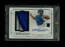 Kyle Schwarber 2016 Flawless BLACK Prime Patch Auto Rookie #1/1! Chicago Cubs RC