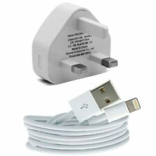 New Genuine CE Charger Plug & USB Sync Cable for Apple iPad iPhone 5 6 7 X XR XS