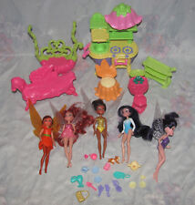 Disney Tinker Bell Fairy Fairies Lot - Kitchen, Toilet, Iridessa, Silvermist +