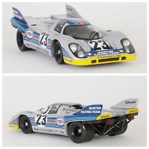 1/18 Norev Porsche 917K 1000Km Spa 1971 N°23 Lennep/Marko Livraison Domicile