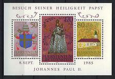 LIECHTENSTEIN 1985 MNH SC.816 Visit of John Paul ll