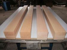 4 Buche Tischbeine (€21,25/m) 80x80x1000mm 4-seitig gehobelt Kantholz Leimholz