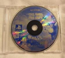 SLUS-90008 Cool Games Free Stuff (PlayStation Demo) NM!