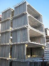 ca. 383m² Gerüst Layher/Assco/Alfix/MJ Fassadengerüst  mit 3,07 Robustböden
