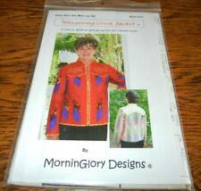 WHISPERING CREEK JACKET BY MORNINGLORY DESIGNS 2007 QUILT/SEWING PATTERN
