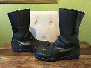 Womens Waterproof , Breathable RST Leather Motorcycle Boots - Size UK 6, EU 40