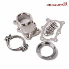 Kinugawa Turbo 6 Bolt to V-band Flange Kit For NISSAN Skyline RB20DET RB25DET T3