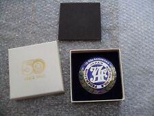 Japan Automobile Federation JAF Emblem Badge Decal JDM Original 40 YEAR