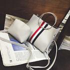 2017 New Women Fashion Leather Messenger Satchel Handbag Ring Chain Shoulder Bag