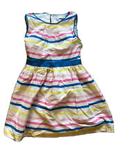 M&S blue, pink and yellow summer dress age 5-6yrs